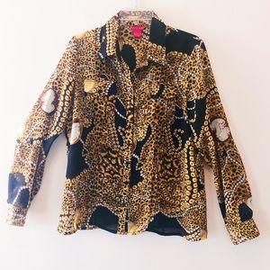 Sunny Leigh long sleeve blouse.
